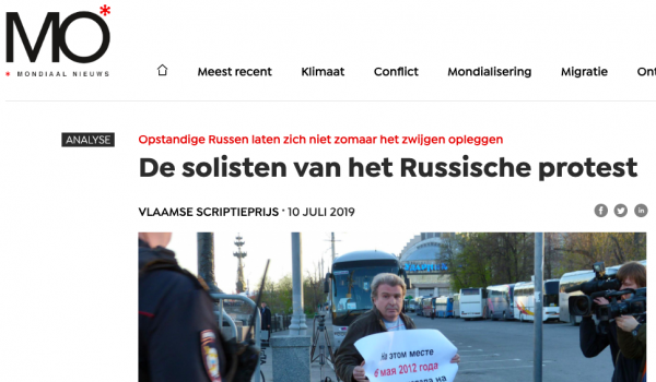 Rusland protest mo magazine UGent thesis